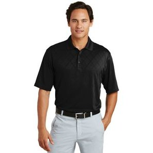 Nike Men's Golf Dri Fit Cross Over Texture Polo Shirt
