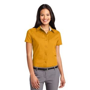 Port Authority� Ladies' Easy Care Short Sleeve Shirt