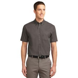 Port Authority� Tall Easy Care Short Sleeve Shirt