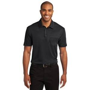 Port Authority� Silk Touch� Performance Pocket Polo Shirt