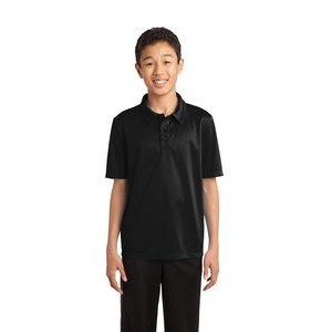 Youth Port Authority� Silk Touch� Performance Polo Shirt