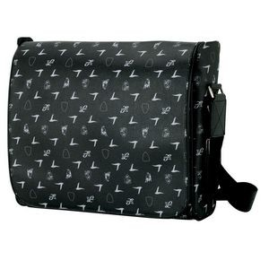 Black Lamborghini Shoulder Bag