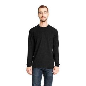 NEXT LEVEL APPAREL Unisex Sueded Long-Sleeve Crew