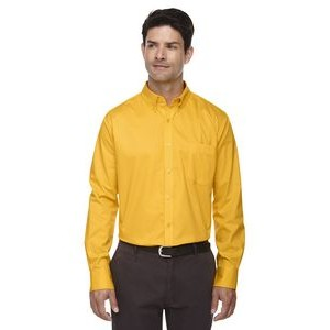 CORE 365 Men's Operate Long-Sleeve Twill Shirt