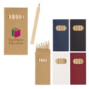 6-Piece Colored Pencil Set