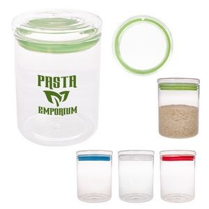 26 Oz. Fresh Prep Glass Container With Lid