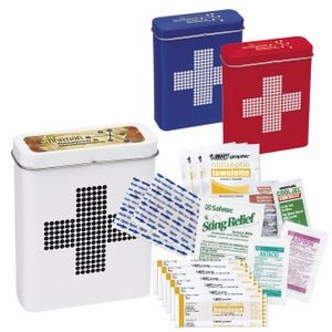 BIC Graphic® Retro First Aid Tin