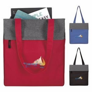 Good Value® Two-Tone Colorblock Zip Tote